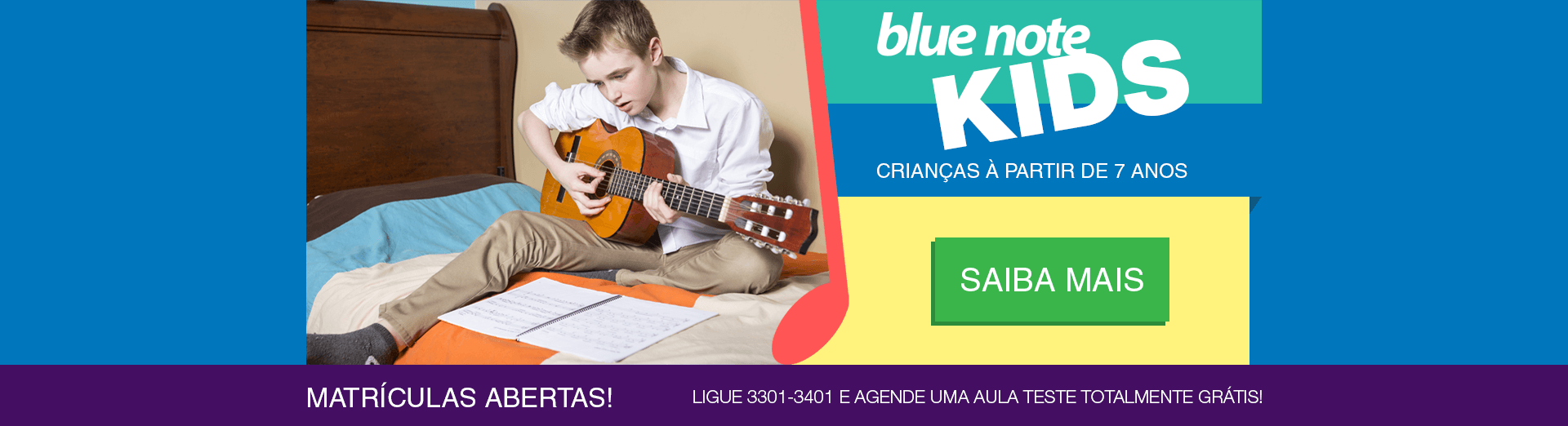 Kids - Escola de Música – Blue Note Rio Preto