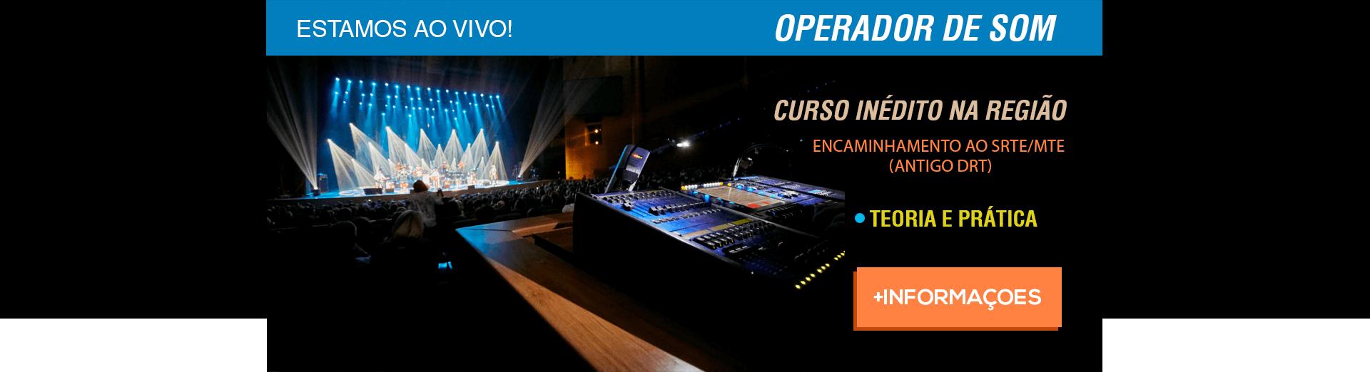 Operador - Escola de Música – Blue Note Rio Preto